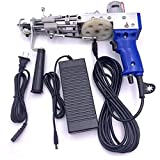 Carpet weaving gun tufting machine cutting pile electric industrial embroidery machine high-efficiency hand-knitting machine carpet height adjustable 110V-220V