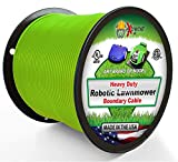 Universal Heavy Duty Automatic Lawnmower Boundary Wire - 1000' 14 Gauge Thick Professional Grade Robotic Lawnmower Perimeter Wire Works with All Brands