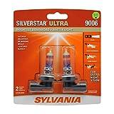 SYLVANIA - 9006 SilverStar Ultra - High Performance Halogen Headlight Bulb, High Beam, Low Beam and...