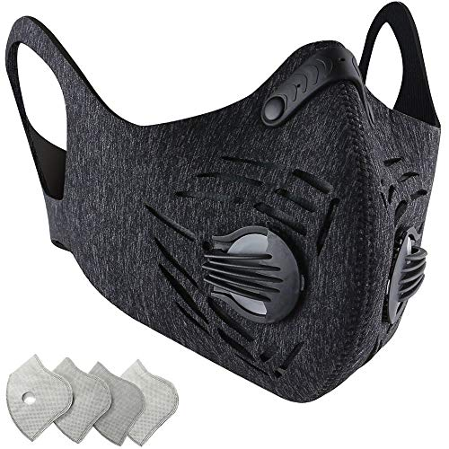 BASE CAMP Urban Dust Mask with Activated Carbon Filter -Neoprene Material- First Generation of BASE CAMP Dust Mask