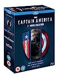 Captain America 1-3 [Blu-ray] [Region Free]