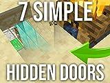 7 Simple Hidden Doors to Build in Survival Minecraft 1.14.4