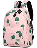 School Bookbag for Girls, Cute Cactus Water Resistant Laptop Backpack College Bags Women Travel Daypack