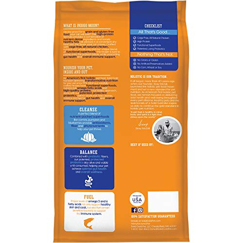 Product Image 2: Solid Gold - Indigo Moon with All Natural Chicken & Egg - Grain Free & Gluten Free - High Protein Holistic Dry Cat Food for All Life Stages - 6lb Bag