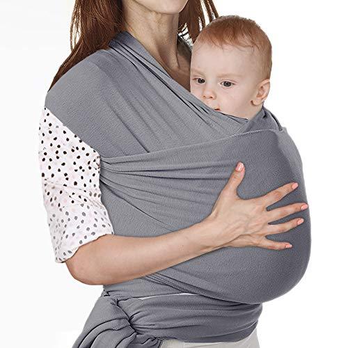 Lictin Fascia Porta Bambino - Fascia Porta Bebè Elastica, Baby Wrap, Marsupio Fascia Neonato per...