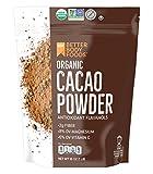 Organic Cacao Powder, Non-GMO, Gluten-Free Superfood (16 oz.)