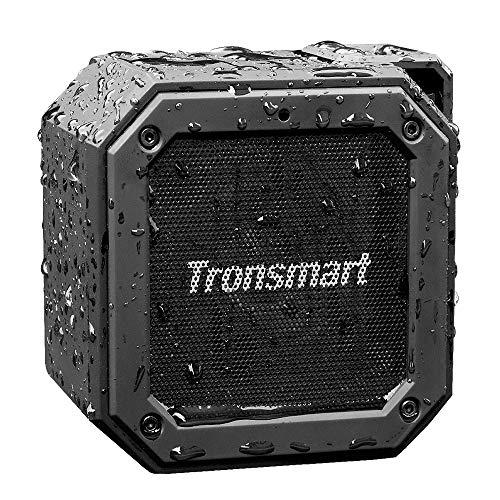 Tronsmart Cassa Bluetooth Waterproof IPX7, Riproduzione di 24 Ore con Basso, TWS Stereo Suono 360°,...