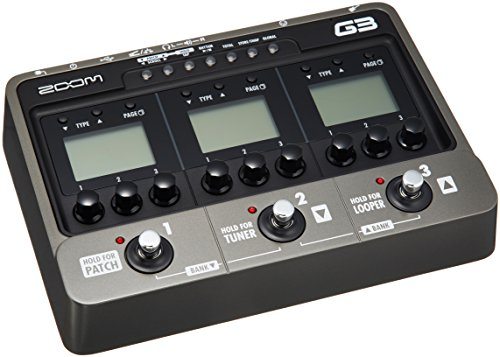 ZOOM ギター用エフェクト・アンプシミュレーター G3 Version 2.0