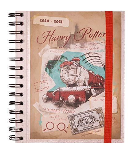 Grupo Erik - Agenda escolar 2020/2021 Semana vista Harry Potter, 11 meses (15,5x19 cm)