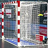 FORZA Filets de Remplacement pour Buts de Handball 3m x 2m – Filet Blanc de...
