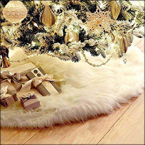 2017年クリスマスツリースカート クリスマス飾り 円形 可愛いツリースカート豪華 ベースカバー オーナメン...