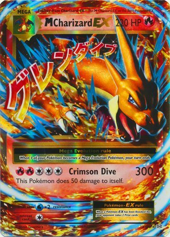 Pokemon - Mega-Charizard-EX (13/108) - XY Evolutions - Holo