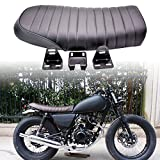 Katur Universal Motorcycle Vintage Flat Coussin Selle Hon da CB125S CB550 CL350 450 CB CL Retro...