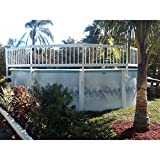 GLI Above Ground Pool Fence Add-On Kit C (2Sect)