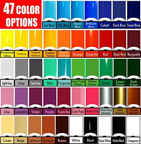 Vinyl Rolls (Oracal 651) Choose your colors 47 options (Cricut,...
