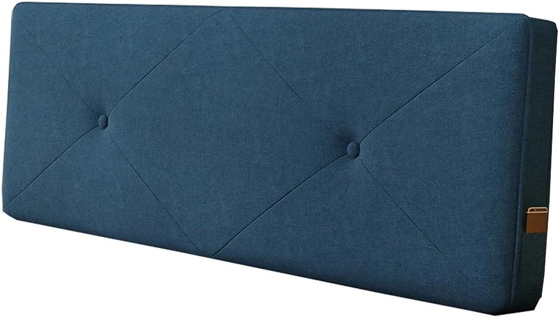 10 90 Taille Bleu Jean Un Couleur Lit De Tête Doreiller