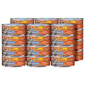 Purina Friskies Shreds Wet Cat Food – 5.5 oz. Cans (Pack of 24)
