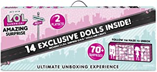 L.O.L. Surprise! Amazing Surprise with 14 Dolls 70+ Surprises and 2 Playset