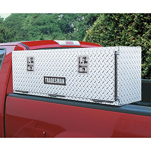 Product Image 3: Lund 8172T 72-Inch Aluminum Top Mount Truck Tool Box, Diamond Plated, Silver