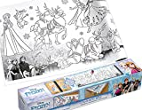 Disney SiS Successfulldeas SOLUTIONS Self-Adhesive Painting Roll Anna and Elsa Great Colouring Fun Frozen for Children / Crafts / Colouring Book