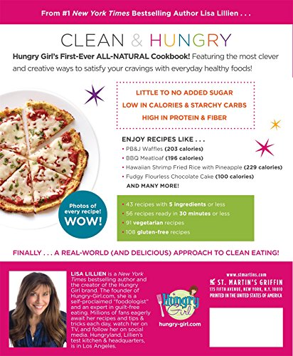 Hungry Girl Clean & Hungry: Easy All-Natural Recipes for Healthy Eating in the Real World 2