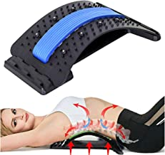 Back Stretcher, Lumbar Back Pain Relief Device, Multi-Level Back Massager Lumbar, Pain..