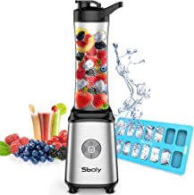 Personal Blender, Sboly Smoothie Blender Single Serve Small Blender for Juice Shakes and..