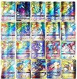 SunAurora 100PCS Cartes, Amusant Flash Card, GX Tag Team Cartes, Cadeaux de...