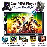 Honboom Autoradio Bluetooth 2 DIN Stéréo de Voiture écran Tactile HD de...