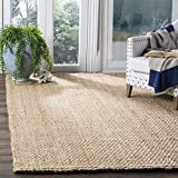 Safavieh Natural Fiber Collection NF401A Hand-woven Jute Area Rug, 9' x 12'