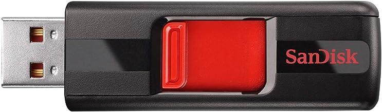 SanDisk 128GB Cruzer USB 2.0 Flash Drive - SDCZ36-128G-B35, Black/Red