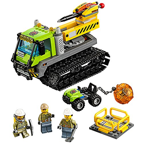 LEGO City Volcano Explorers Volcano Crawler 60122 Creative Play Building Toy