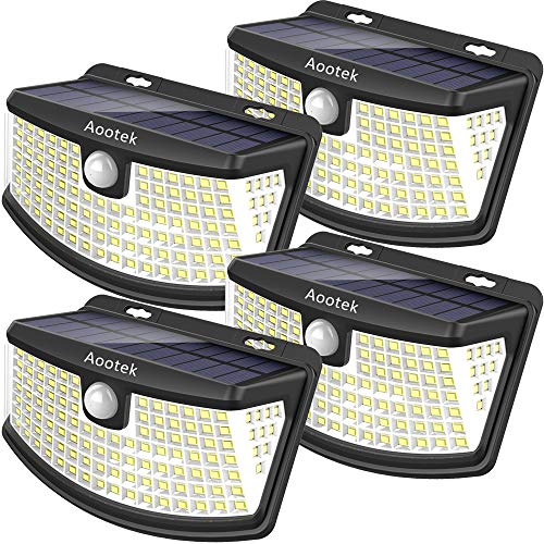 Aootek New solar lights 120 Leds upgraded with lights...
