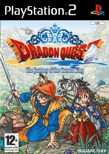 [Import Anglais]Dragon Quest The Journey of the Cursed King Game PS2