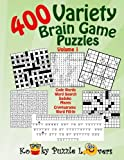 Variety Puzzle Book, 400 Puzzles, Volume 1