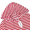 Clearlove Sweatshirt for Women,3/4 Sleeve Pocket Slim Pullover Hoodie Dress (Red&White L) #2