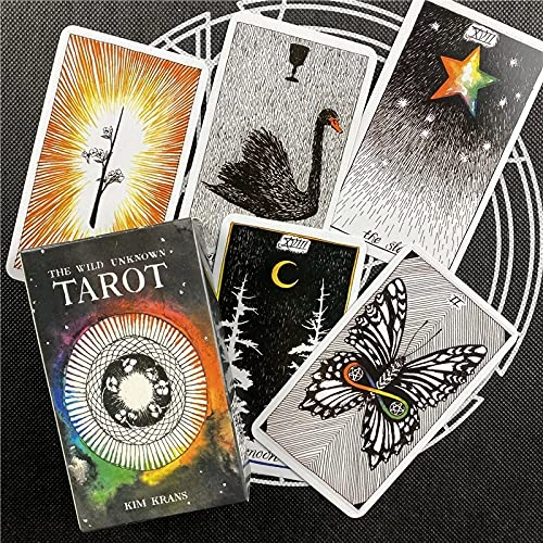 QILAIHIY The Wild Tarot Cards Deck Cool Popular Fortune...