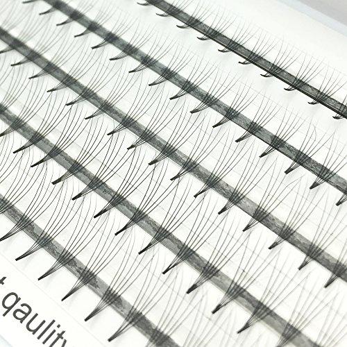 Extensiones de pestañas en 3D Volumen del racimo ruso Pestañas individuales Volumen...