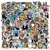 DONGJI Pegatinas de Dibujos Animados Anime Viaje monopatín Maleta Guitarra Equipaje portátil calcomanías Pegatina DIY diversión para Chico Juguete 100 Uds