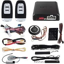 EASYGUARD EC002 Smart Key RFID PKE Car Alarm System Passive Keyless Entry Remote Engine..