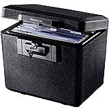 SentrySafe 1170 Fireproof Box with Key Lock 0.61 Cubic Feet, Black