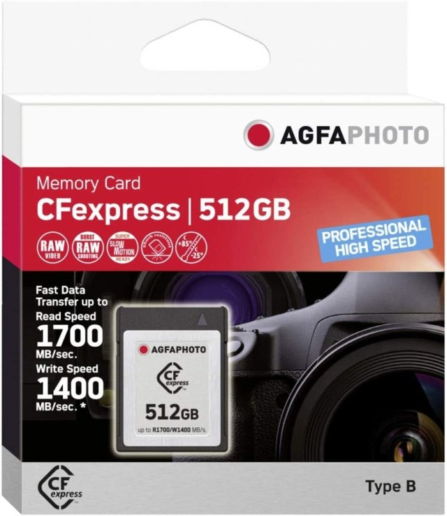AgfaPhoto CFexpress Agfaphoto Professional High Speed Brand 26 GB