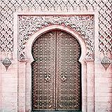 Islam musulmán Lienzo Cartel Flor Arte Pintura Mural Alá Mezquita Minimalista Decoración del hogar 40x60cm 16x24 pulgadas