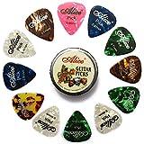 Alice 12 Médiators de Guitare pour vos Guitare Électrique, Acoustique ou...
