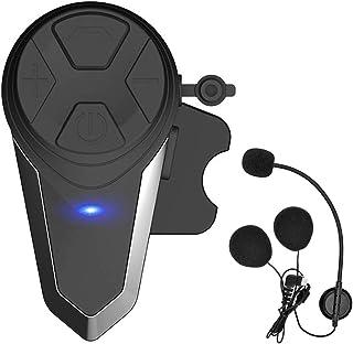 THOKWOK Motorcycle Bluetooth Headset,BT-S3 1000m Helmet Headphones for Snowmobile..
