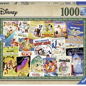 Ravensburger Disney Vintage Movie Posters 1000 Piezas Rompecabezas para Adultos y niños de 12 años en adelante…
