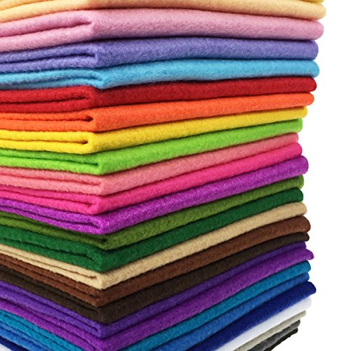 Thick Soft Felt Fabric Sheet Assorted Color