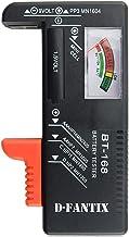 D-FantiX Battery Tester, Universal Battery Checker for AA AAA C D 9V 1.5V Button Cell..