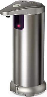 Nozama Automatic Soap Dispenser Equipped with Stainless Steel, Adjustable Switches,..