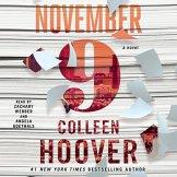 November 9 audiobook cover art